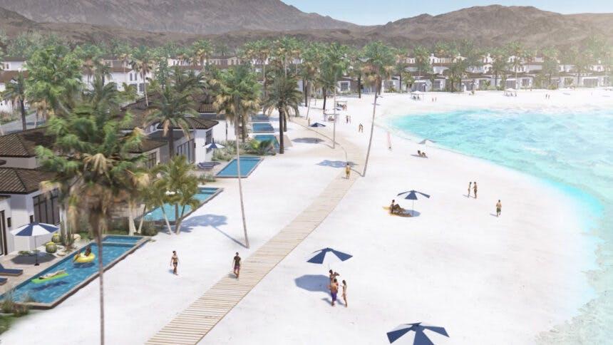 Thermal Beach Club Rendering
