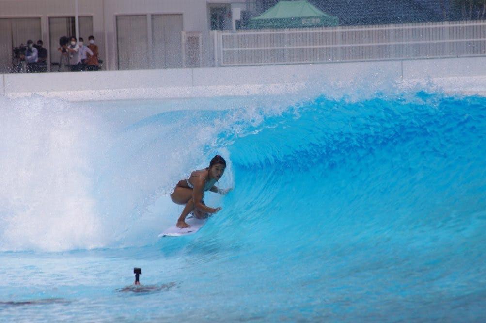 Mahina Maeda barrel